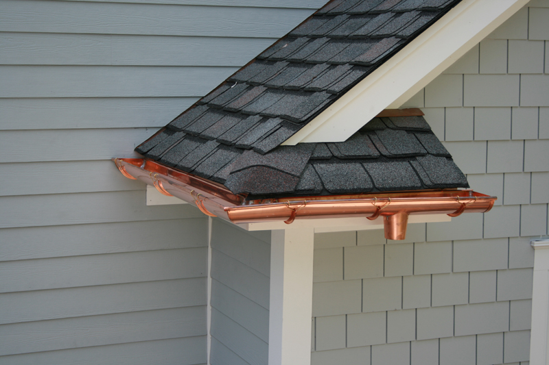 Copper gutters new jersey and new york gutter systems for New gutters