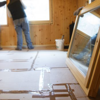 Preparing a home in New Jersey for Window Replacement and Installation.